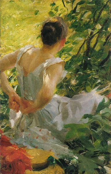 File:Anders Zorn - Kvinna som klär sig (1893).jpg