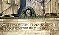 Andrea della Robbia, Crocifisso fra la Madonna, san Giovanni, la Maddalena e angeli 02 teschio.jpg