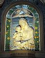 Andrea della robbia, madonna col bambino, 1480 ca..JPG