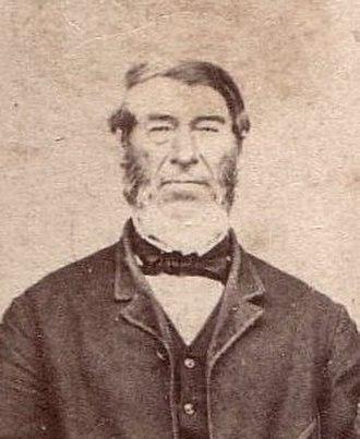 Great Trek - Hendrik Potgieter at Delagoa Bay, ca. 1851/52