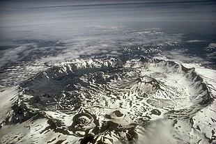 La caldera del vulcano Aniakchak