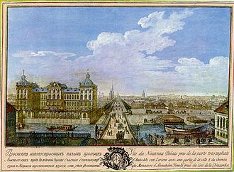 Anichkov Palace - Image: Anichkov fontanka