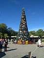 Animal Kingdom Front Entrance for the Holidays (31519058112).jpg