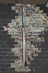 anker en oorspronkelijk gekleurd muurwerk - schiedam - 20338101 - rce