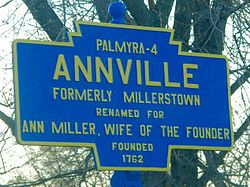 Official logo of Annville Township, Pennsylvania