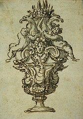 Richly decorated vase