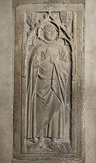 Dalle funéraire de Guillaume de Montastruc