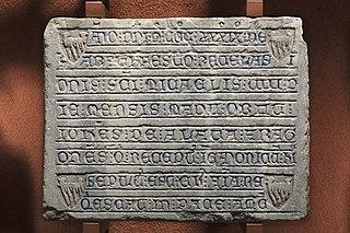 Épitaphe d'Iohannes de Alava