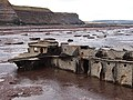 Another piece of shipwreck debris, Saltwick Nab - geograph.org.uk - 722578.jpg