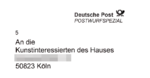 Anschriftenfeld Deutsche Post - Postwurfspezial - An alle Kunstinteressierten des Hauses.png