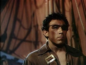 Anthony Quinn - Quinn in The Black Swan (1942)