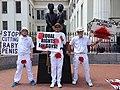 Anti-circumcision protest At the Dred Scott Memorial (17466252103).jpg