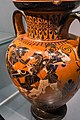 Antimenes Painter - ABV 269 37 - Herakles and the amazons - Herakles with Iolaos and Athena - København NCG 2653 - 06.jpg