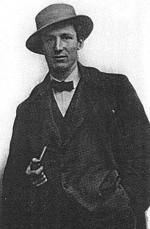 Antonio Sant'Elia - Antonio Sant'Elia in his twenties in Milan