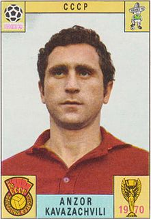 Anzor Kavazashvili Soviet footballer from Georgia