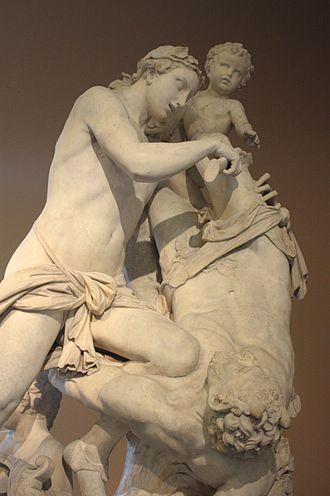 Marsyas - Apollo flaying Marsyas by Antonio Corradini (1658–1752), Victoria and Albert Museum, London