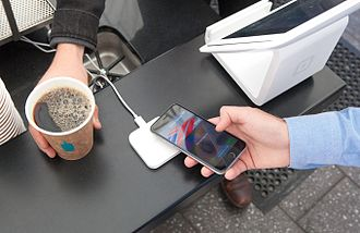 Apple Pay - Paying for coffee with Square's Apple Pay reader