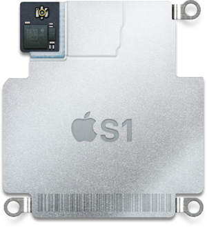 Apple Watch - Image: Apple S1 module