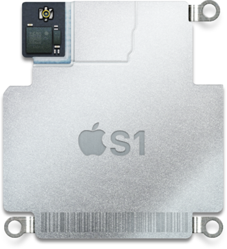 Apple S1 - The S1 integrated computer, 2.5 cm wide