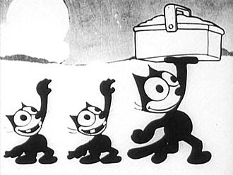 Felix the Cat filmography - Felix, Inky, and Winky in April Maze (1930)
