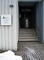 Arbeed gGmbH für berufliche Bildung und Produktion Vahrenwalder Straße 219A Hannover Zentralwerkstadt Möbelhalle Eingang zur Verwaltung.jpg