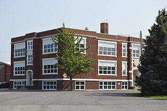 Arcadia, Ohio - Arcadia High School on Fremont Street