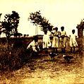 Archivo General de la Nación Argentina 1890 aprox riña de gallos.jpg