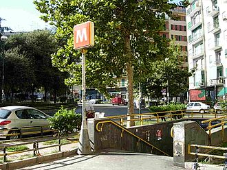Arenella - Subway Station Medaglie d'Oro.