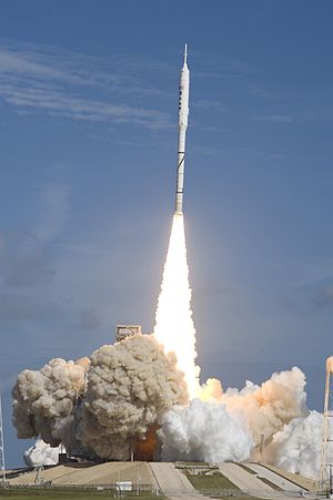 Space policy of the United States - The launch of the Ares I-X prototype on October 28, 2009 was the only flight performed under the Bush administration's Constellation program.