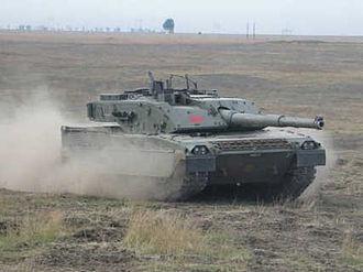 Tanks in the Italian Army - Ariete tank of the Italian Army.