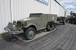 Arkansas Air & Military Museum May 2017 54 (M3 Half-track).jpg