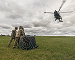 Army Air Corps Reserves train with Wildcat helicopters MOD 45164375.jpg