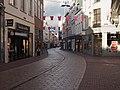 Arnhem, straatzicht de Vijzelstraat voor Giro d'Italia positie2 foto5 2016-04-17 19.13.jpg