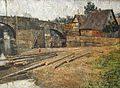 Arp Brücke Saalfeld@Weimar Schlossmuseum.JPG