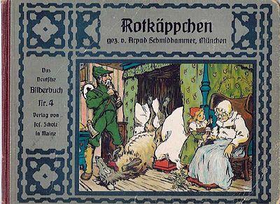 Arpad Schmidhammer - Rotkäppchen-Verlag Josef Scholz, Mainz ca 1910
