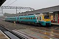 Arriva Trains Wales Class 175, 175113, platform 3, Stockport railway station (geograph 4525176).jpg