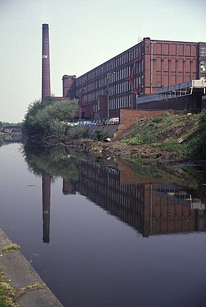Rochdale - Arrow Mill is a former cotton mill and Grade II listed building in Castleton