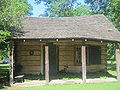Artists' cabin at Melrose Plantation IMG 3464.JPG