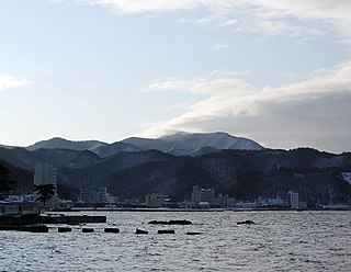 Asamushi Onsen Hot spring in Aomori Prefecture, Japan