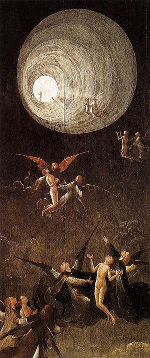 public domain art by Bosch, from: http://www.w...