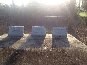 John Ashley (bandit) - Ashley gang gravesite