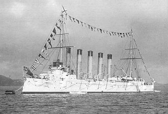 Russian cruiser Askold - Askold in East Indies (1902)