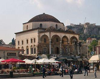 Museum of Greek Folk Art - The Tzistarakis Mosque in Monastiraki Square