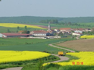 Athienville - A general view of Athienville