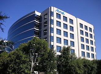 Atmel - Atmel corporate headquarters in San Jose California