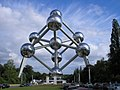 Atomium w Brukseli.JPG