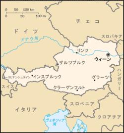 オーストリア - Wikipedia : 日本地図 山脈 : 日本