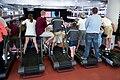 Audience members standing on treadmills.jpg