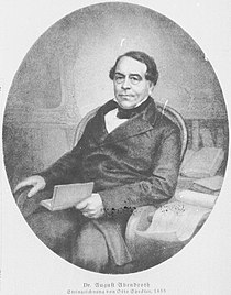 August Abendroth, drawing by Otto Speckter (1855).jpg
