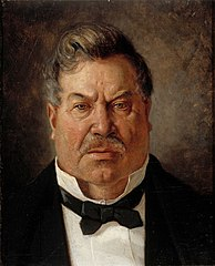 Portrait of August Streng